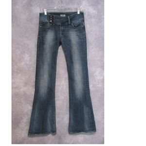 ReRock for Express Flare Blue Jeans Size 6